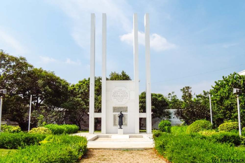 Pondicherry - French War Memorial